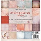 "49 & Market - 6""x6"" Heirloom Botanicals Paper Pack (36 sheets)"