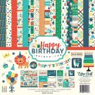 "Echo Park 12""x12"" Paper Collection Kit - Happy Birthday Boy (13 sheets)"