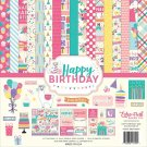 "Echo Park 12""x12"" Paper Collection Kit - Happy Birthday Girl (13 sheets)"
