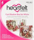 Heartfelt Creations Card Shadow Box Set - White (4 pack)