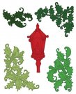 Heartfelt Creations Cut & Emboss Dies - Festive Holly & Cardinals