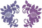Heartfelt Creations Cut & Emboss Dies - Burst Of Spring-Delicate Pansy Spray (4 dies)