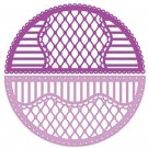 Heartfelt Creations Cut & Emboss Dies - Rounded Lattice Window