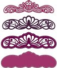 Heartfelt Creations Cut & Emboss Dies - Regal Borders & Pockets