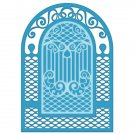 Heartfelt Creations Cut & Emboss Dies - Teardrop Lattice Gateway