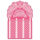Heartfelt Creations Cut & Emboss Dies - Lattice Flourish Gateway
