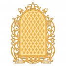 Heartfelt Creations Cut & Emboss Dies - Regal Lattice Gateway