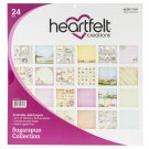 "Heartfelt Creations 12""x12"" Double-Sided Paper Pad - Sugarspun (24 sheets)"