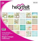 "Heartfelt Creations 12""x12"" Double-Sided Paper Pad - Happy Camper (24 sheets)"