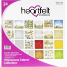 "Heartfelt Creations 12""x12"" Double-Sided Paper Pad - Wilderness Retreat (24 sheets)"