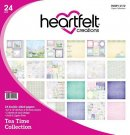 "Heartfelt Creations 12""x12"" Double-Sided Paper Pad - Tea Time (24 sheets)"