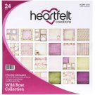 "Heartfelt Creations 12""x12"" Double-Sided Paper Pad - Wild Rose (24 sheets)"