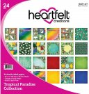 "Heartfelt Creations 12""x12"" Double-Sided Paper Pad - Tropical Paradise (24 sheets)"