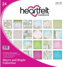 "Heartfelt Creations 12""x12"" Double-Sided Paper Pad - Merry & Bright (24 sheets)"