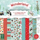 "Trimcraft 6""x6"" Paper Pack - Wonderland (48 sheets)"
