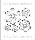 Heartfelt Creations - Arianna Blooms Cling Mounted Stamp