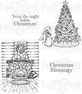 Heartfelt Creations - Winter's Eve Pre-Cut Cling Mounted Stamp (4 stamps)