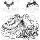 Heartfelt Creations - Elements of Fashion Pre-Cut Cling Mounted Stamp Set (3 stamps)