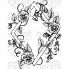 Heartfelt Creations - Burst Of Spring-Petite Pansy Frame Pre-Cut Cling Mounted Stamp (1 stamp)