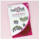 Heartfelt Creations Cling Rubber Stamp Set - Cascading Wisteria Cascading Petals