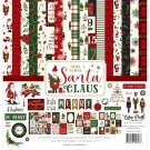 "Echo Park Collection Kit 12""x12"" - Here Comes Santa Claus (13 sheets)"