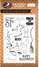 Carta Bella Clear Stamp Set - Halloween Night