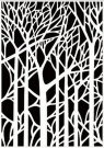 Nellie's Choice Embossing Folder - Background Trees