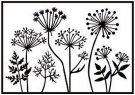 Nellie's Choice Embossing Folder - Dandelions