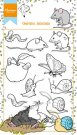 Marianne Design Clear Stamp Set - Hettys Garden Animals