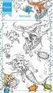 Marianne Design Clear Stamps - Hetty's Mermaid