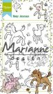 Marianne Design Clearstamp Set - Hetty`s Baby Animals
