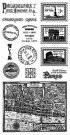 Graphic 45 Cityscapes Cling Stamps - #2