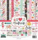 "Echo Park 12""x12"" Collection Kit - I Heart Crafting (13 sheets)"