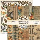 "ScrapBoys 12""x12"" Paper Set - Industrial Romance (12 sheets+cut out elements)"