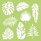 Kaisercraft Designer Template - Tropical Leaves