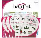 Heartfelt Creations Merry & Bright Collection - Includes 1 Of Each Item In Collection