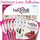 Heartfelt Creations Oakberry Lane Collection - Includes 1 Of Each Item In Collection