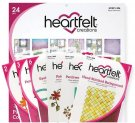Heartfelt Creations Patchwork Daisy Collection - Includes 1 Of Each Item In Collection