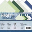Jeanines Art 4K Linen Paper - Frosty Ornaments
