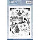 Jeanines Art Clear Stamps - Frosty Ornaments
