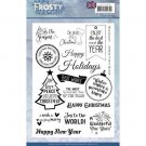 Jeanines Art Clear Stamps - Frosty Ornaments English Text
