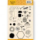 Jeanines Art Clear Stamps - Buzzing Bees