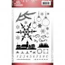 Jeanines Art Clear Stamps - Lovely Christmas