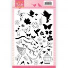 Jeanines Art Clear Stamps - Happy Birds