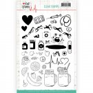 Jeanines Art Clear Stamp Set - Well Wishes