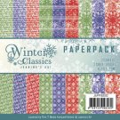 "Jeanine Art 6""x6"" Paperpack - Winter Classics (23 sheets)"