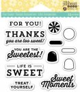 Jillibean Soup Clear Stamps - Sweet Moment