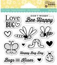 Jillibean Soup Clear Stamps - Love Bug