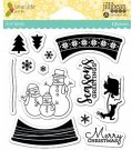 Jillibean Soup Clear Stamps - Snow Globe