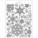 Stamperia A5 Soft Mould - Snowflakes